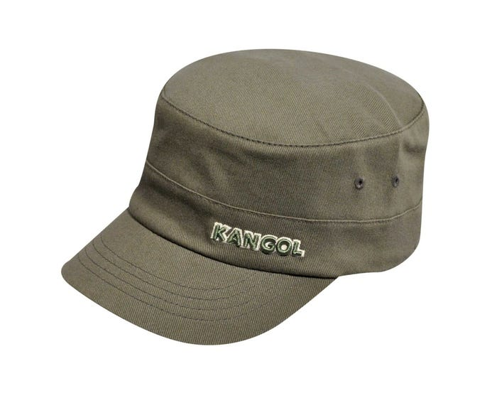 b0044d4d4b6ca Cotton Twill Army Cap - The Official KANGOL Store