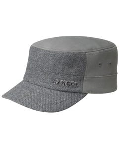 Textured Wool Army Cap