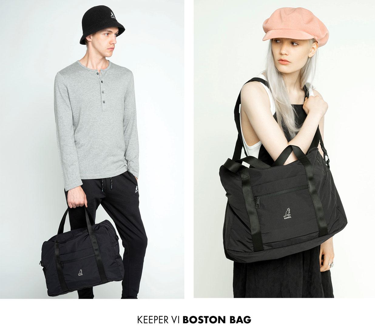 The Keeper VI Boston Bag